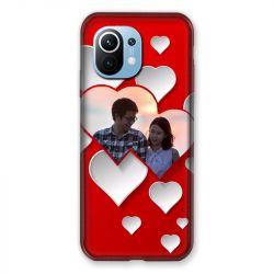 Coque Pour Xiaomi Redmi Mi 11 Amour Mariage Coeur Rouge