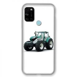 Coque Pour Wiko View 5 / View 5 Plus Agriculture Tracteur Blanc