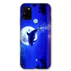 Coque Pour Wiko View 5 / View 5 Plus Dauphin Lune