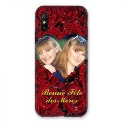 Coque Pour Xiaomi Redmi 9A Personnalisee Fete Des Meres Roses Rouges