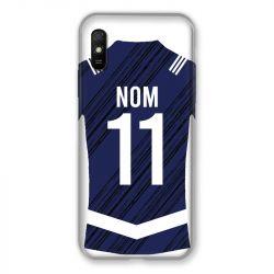 Coque Pour Xiaomi Redmi 9A Personnalisee Maillot Footbal Girondins Bordeaux