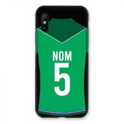 Coque Pour Xiaomi Redmi 9A Personnalisee Maillot Football AS Saint Etienne