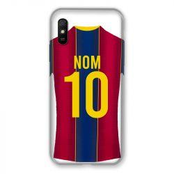 Coque Pour Xiaomi Redmi 9A Personnalisee Maillot Football FC Barcelone