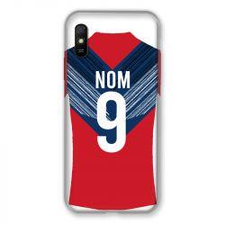 Coque Pour Xiaomi Redmi 9A Personnalisee Maillot Football LOSC Lille