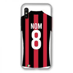 Coque Pour Xiaomi Redmi 9A Personnalisee Maillot Football Milan AC