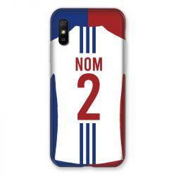 Coque Pour Xiaomi Redmi 9A Personnalisee Maillot Football Olympique Lyonnais Domicile