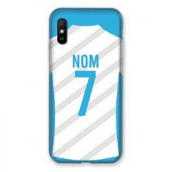 Coque Pour Xiaomi Redmi 9A Personnalisee Maillot Football Olympique Marseille Domicile
