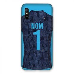Coque Pour Xiaomi Redmi 9A Personnalisee Maillot Football Olympique Marseille Exterieur