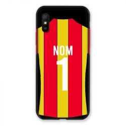 Coque Pour Xiaomi Redmi 9A Personnalisee Maillot Football RC Lens