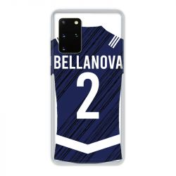 Coque Pour Samsung Galaxy S20 Plus Personnalisee Maillot Footbal Girondins Bordeaux