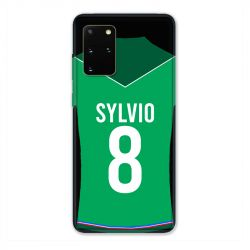 Coque Pour Samsung Galaxy S20 Plus Personnalisee Maillot Football AS Saint Etienne