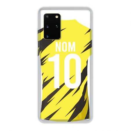 Coque Pour Samsung Galaxy S20 Plus Personnalisee Maillot Football Borussia Dortmund
