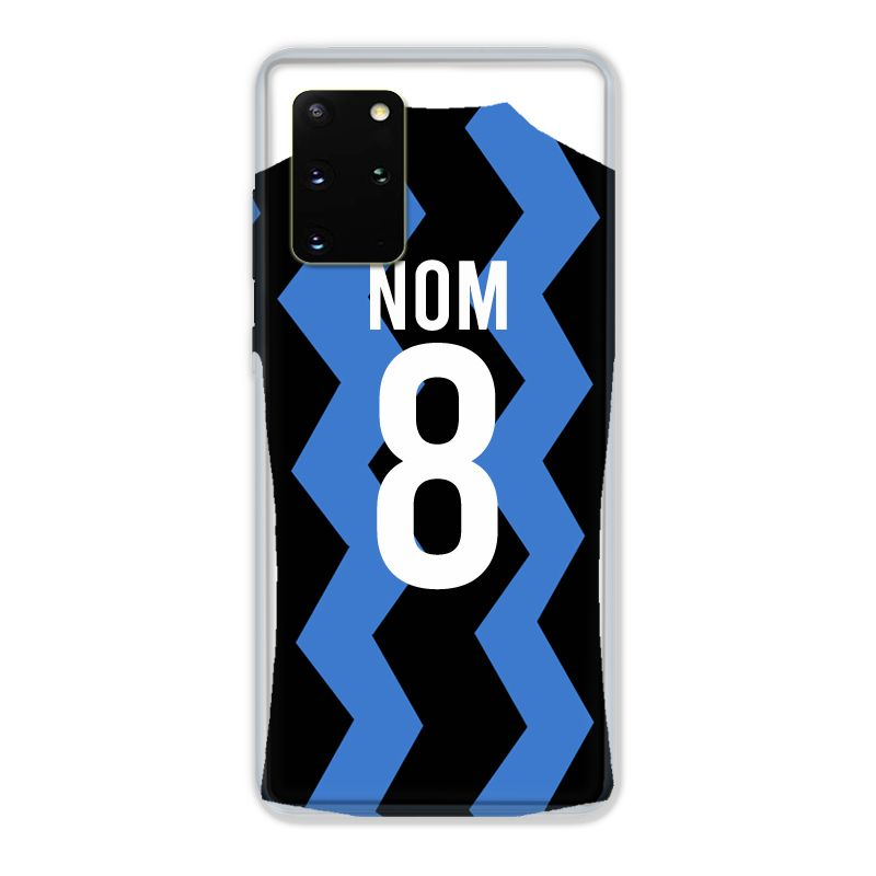 Coque Pour Samsung Galaxy S20 Plus Personnalisee Maillot Football FC Inter Milan