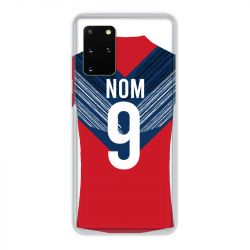 Coque Pour Samsung Galaxy S20 Plus Personnalisee Maillot Football LOSC Lille