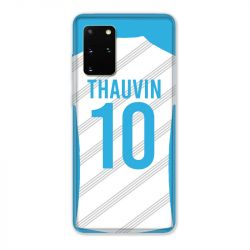 Coque Pour Samsung Galaxy S20 Plus Personnalisee Maillot Football Olympique Marseille Domicile