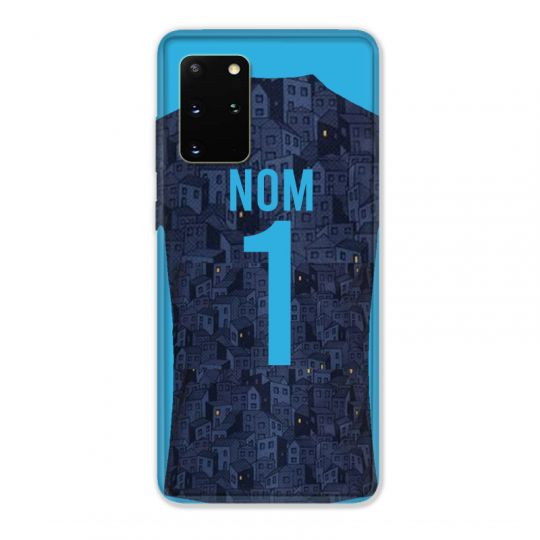 Coque Pour Samsung Galaxy S20 Plus Personnalisee Maillot Football Olympique Marseille Exterieur
