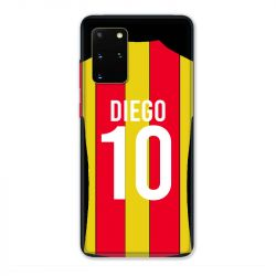 Coque Pour Samsung Galaxy S20 Plus Personnalisee Maillot Football RC Lens