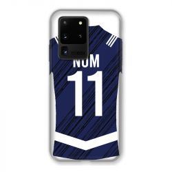 Coque Pour Samsung Galaxy S20 Ultra Personnalisee Maillot Footbal Girondins Bordeaux