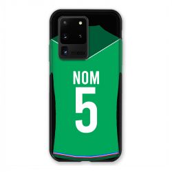 Coque Pour Samsung Galaxy S20 Ultra Personnalisee Maillot Football AS Saint Etienne