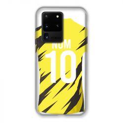 Coque Pour Samsung Galaxy S20 Ultra Personnalisee Maillot Football Borussia Dortmund