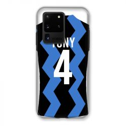 Coque Pour Samsung Galaxy S20 Ultra Personnalisee Maillot Football FC Inter Milan