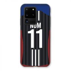 Coque Pour Samsung Galaxy S20 Ultra Personnalisee Maillot Football Olympique Lyonnais Exterieur