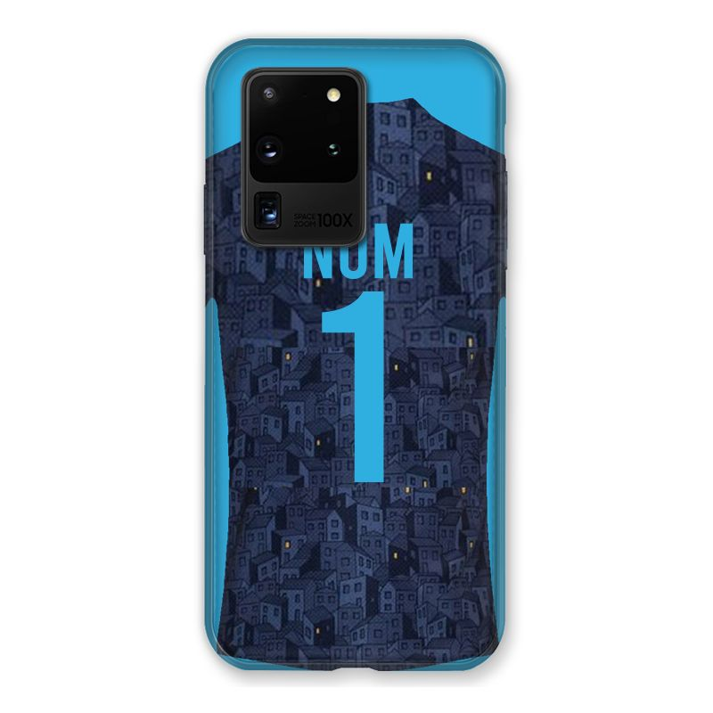 Coque Pour Samsung Galaxy S20 Ultra Personnalisee Maillot Football Olympique Marseille Exterieur