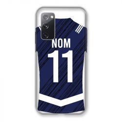 Coque Pour Samsung Galaxy S20 FE / S20FE personnalisee Maillot Footbal Girondins Bordeaux
