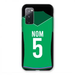 Coque Pour Samsung Galaxy S20 FE / S20FE personnalisee Maillot Football AS Saint Etienne