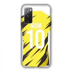 Coque Pour Samsung Galaxy S20 FE / S20FE personnalisee Maillot Football Borussia Dortmund