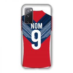Coque Pour Samsung Galaxy S20 FE / S20FE personnalisee Maillot Football LOSC Lille