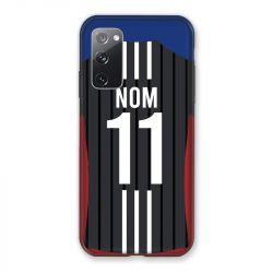 Coque Pour Samsung Galaxy S20 FE / S20FE personnalisee Maillot Football Olympique Lyonnais Exterieur