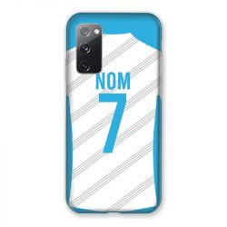 Coque Pour Samsung Galaxy S20 FE / S20FE personnalisee Maillot Football Olympique Marseille Domicile