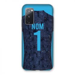 Coque Pour Samsung Galaxy S20 FE / S20FE personnalisee Maillot Football Olympique Marseille Exterieur