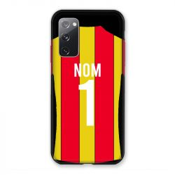 Coque Pour Samsung Galaxy S20 FE / S20FE personnalisee Maillot Football RC Lens