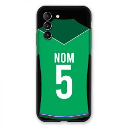 Coque Pour Samsung Galaxy S21 Personnalisee Maillot Football AS Saint Etienne