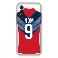 Coque Pour Samsung Galaxy S21 Personnalisee Maillot Football LOSC Lille