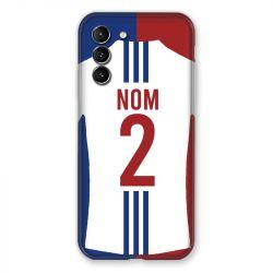 Coque Pour Samsung Galaxy S21 Personnalisee Maillot Football Olympique Lyonnais Domicile