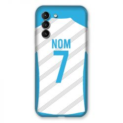 Coque Pour Samsung Galaxy S21 Personnalisee Maillot Football Olympique Marseille Domicile