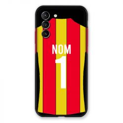 Coque Pour Samsung Galaxy S21 Personnalisee Maillot Football RC Lens