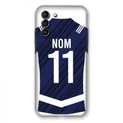 Coque Pour Samsung Galaxy S21 Plus Personnalisee Maillot Footbal Girondins Bordeaux