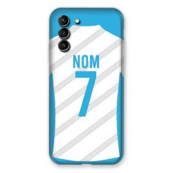 Coque Pour Samsung Galaxy S21 Plus Personnalisee Maillot Football Olympique Marseille Domicile