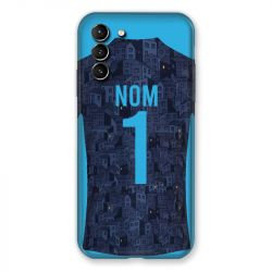 Coque Pour Samsung Galaxy S21 Plus Personnalisee Maillot Football Olympique Marseille Exterieur