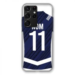 Coque Pour Samsung Galaxy S21 Ultra Personnalisee Maillot Footbal Girondins Bordeaux