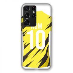 Coque Pour Samsung Galaxy S21 Ultra Personnalisee Maillot Football Borussia Dortmund