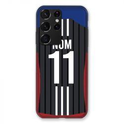 Coque Pour Samsung Galaxy S21 Ultra Personnalisee Maillot Football Olympique Lyonnais Exterieur