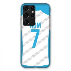 Coque Pour Samsung Galaxy S21 Ultra Personnalisee Maillot Football Olympique Marseille Domicile
