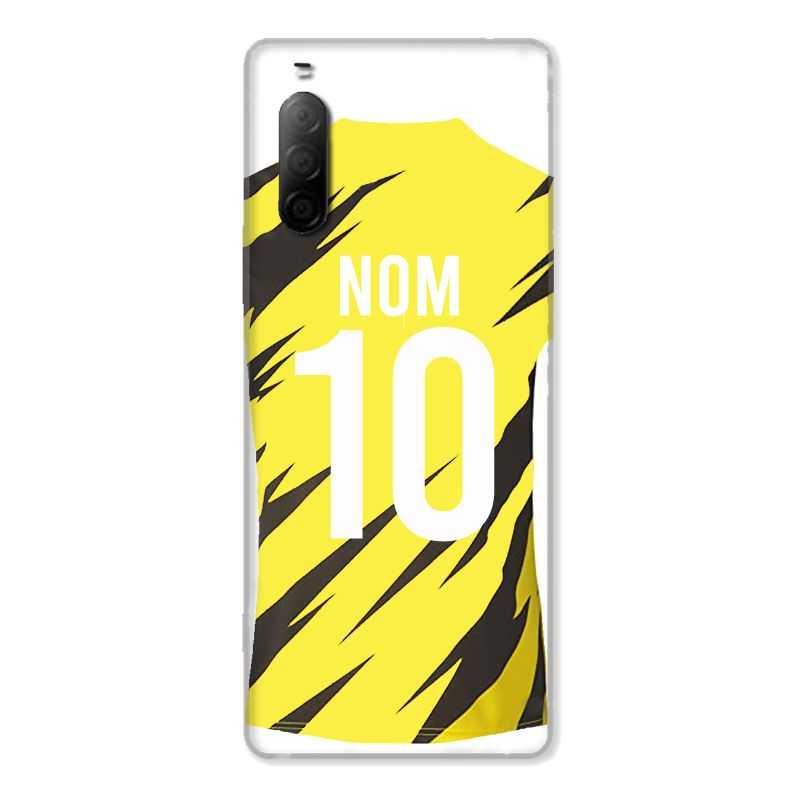 Coque Pour Sony Xperia 10 II Personnalisee Maillot Football Borussia Dortmund