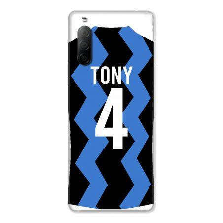 Coque Pour Sony Xperia 10 II Personnalisee Maillot Football FC Inter Milan