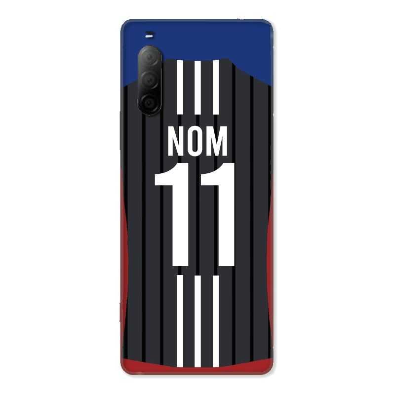 Coque Pour Sony Xperia 10 II Personnalisee Maillot Football Olympique Lyonnais Exterieur